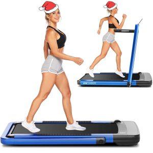 ANCHEER 2in1 Folding Treadmill