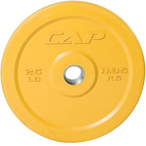 CAP Barbell Olympic 2-Inch Rubber Bumper Plate