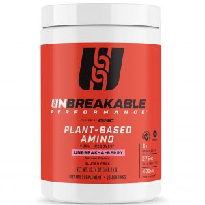GNC Unbreakable Performance Plant-Based Amino