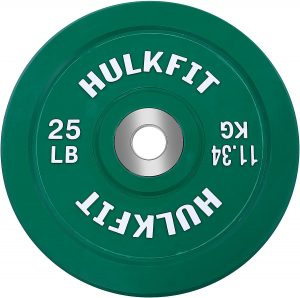 HulkFit Olympic 2-Inch Rubber Bumper Plate