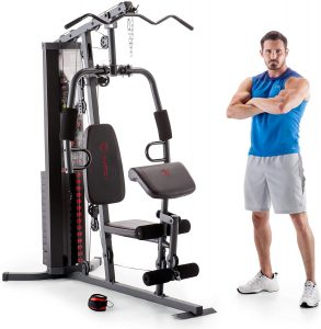 Marcy 150lb Multifunctional Home Gym Station