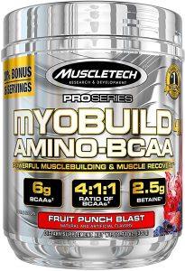 MuscleTech Myobuild Amino BCAAs