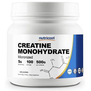 Nutricost Creatine Monohydrate Micronized Powder