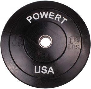 POWERT 2-Inch Barbell Bumper Plates