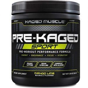 Pre Kaged Sport Best Pre Workout Supplement
