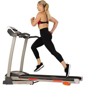 Sunny Health & Fitness Folding Treadmill Best Foldable Treadmills