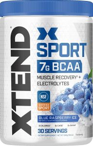 XTEND Sport BCAA Powder Blue Raspberry Ice