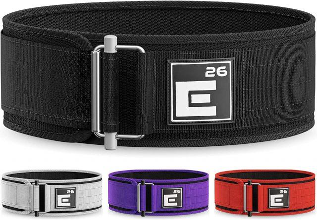 Element 26 Self-Locking Premium Weightlifting Belt