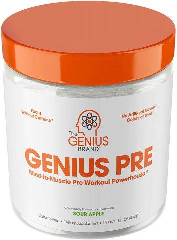 Genius Pre Workout Powde