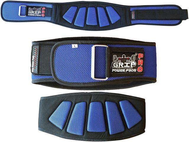 Grip Power Pads Weightlifting Gym Belt