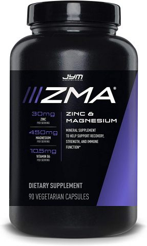 JYM Supplement Science ZMA Capsules