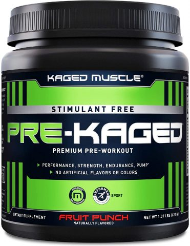 Kaged Muscle Preworkout