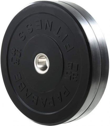 Papababe Bumper Olympic Weight Plates