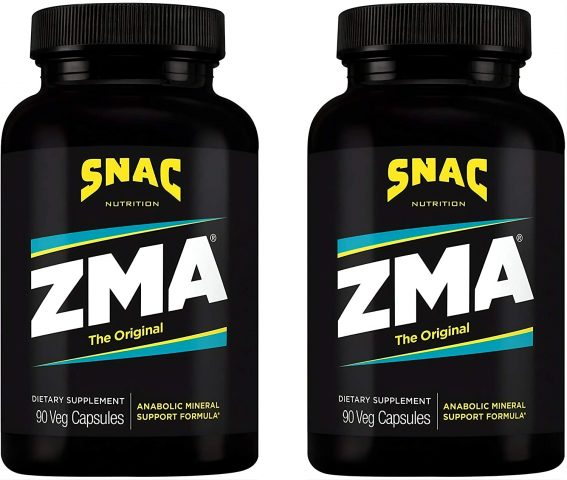 Snac ZMA The Original Recovery and Sleep Supplement