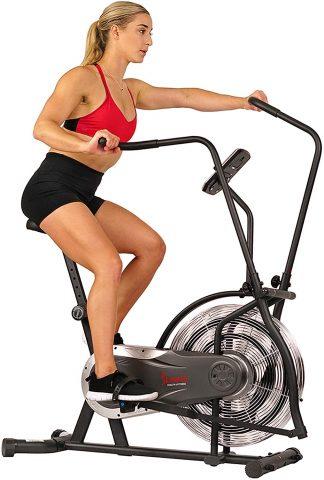 Sunny Health & Fitness Air Bike - Zephyr